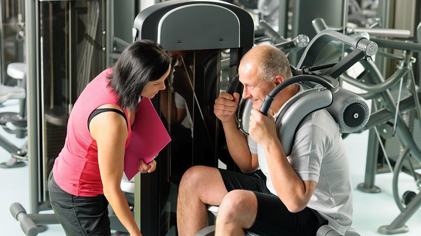 Krafttraining Fitness und Gesundheitstraining im Vita Leer Ostfriesland