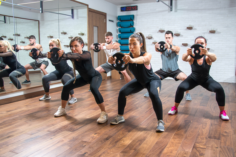 Bauch Beine Po Training im Vita Fitness Gesundheitstraining und Wellness in Leer
