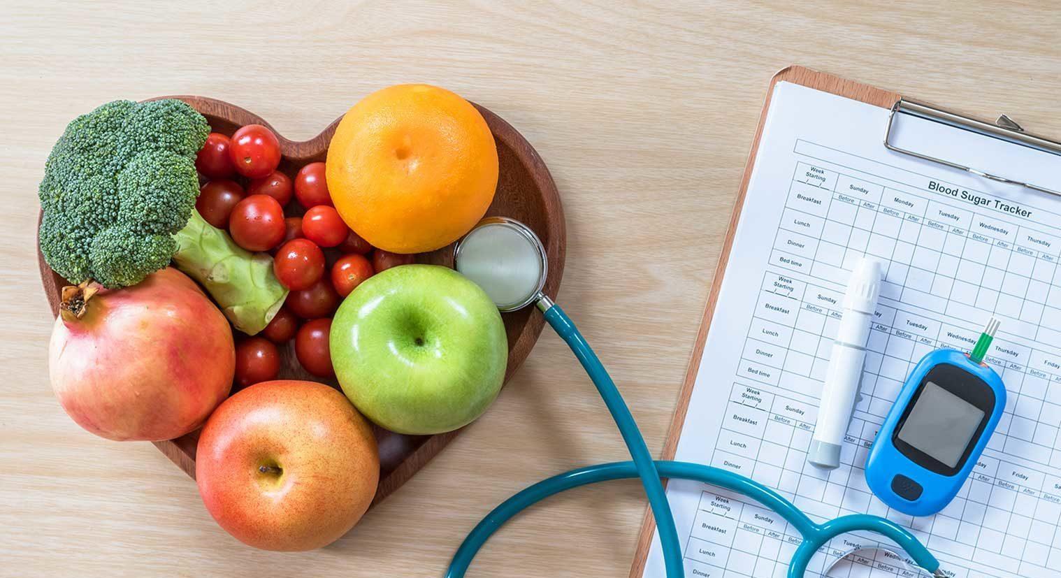 Gesundheit mit der richtigen Ernährung - Vita Fitness Wellness Gesundheitstraining
